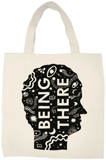 Being There Tote bag